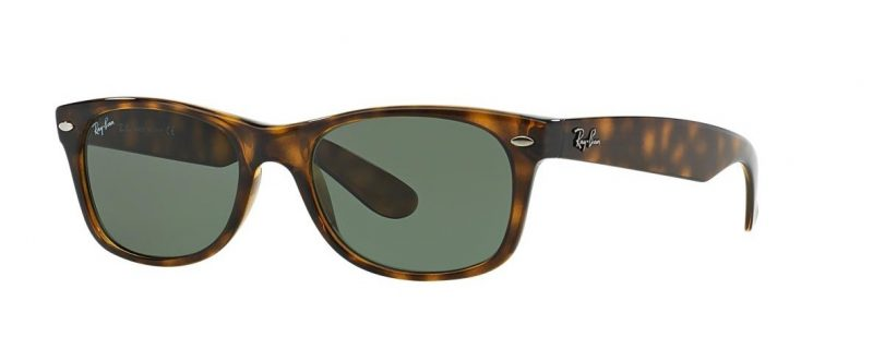 Слънчеви очила Ray-Ban RB2132 902 New Wayfarer Brown Little Left