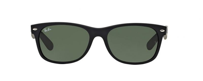 Ray-Ban RB2132 622 Wayfarer Black Matt (2)