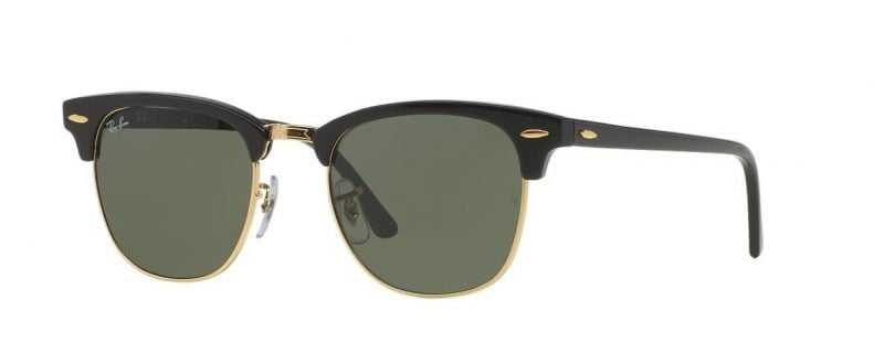 Слънчеви очила Ray-Ban RB3016 W0365 Clubmaster Little Left