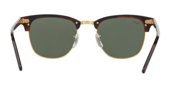 Ray-Ban RB3016 W0366 Clubmaster Brown (4)