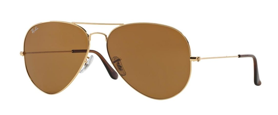 Ray-Ban RB3025 001/33 Aviator Gold Brown