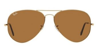 Ray-Ban RB3025 001 33 Aviator Gold Brown (2)