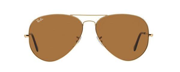 Слънчеви очила Ray-Ban RB3025 001 33 Aviator Gold Brown