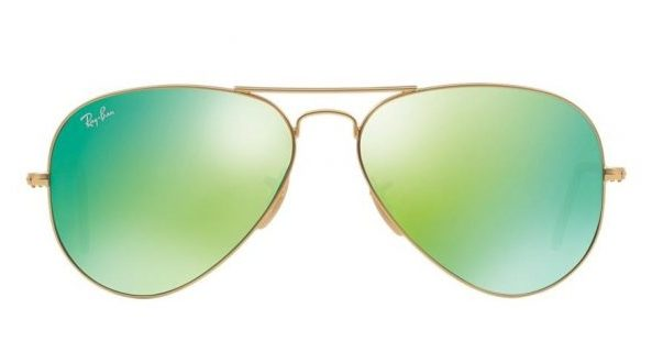 Ray-Ban RB3025 112 19 Aviator Gold Green Mirror (2)