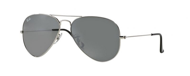 Слънчеви очила Ray-Ban RB3025 W3277 Aviator Silver Mirror Little Left