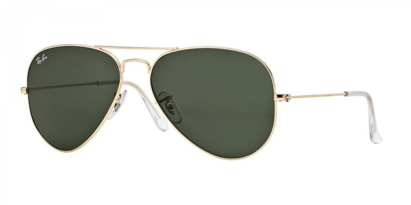 Слънчеви очила Ray-Ban RB3025 L0205 Aviator Gold Little Left
