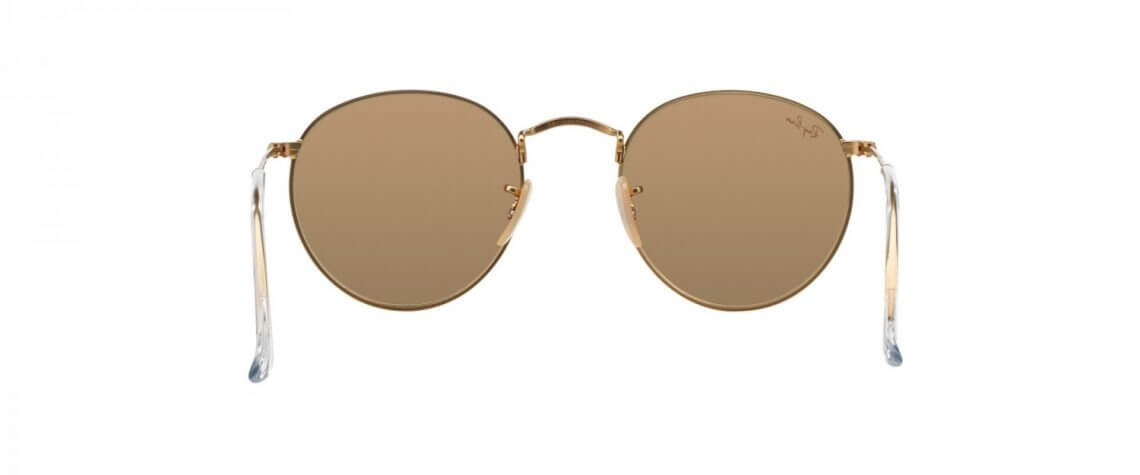 Ray-Ban RB3447 112/Z2 Round Metal Gold – Pink Mirror