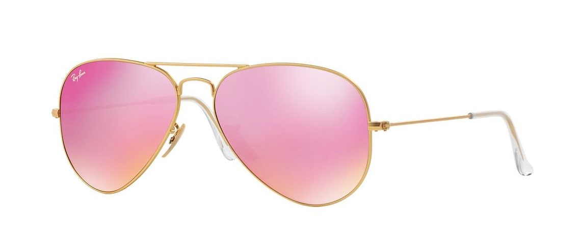 Ray-Ban Aviator Pink Mirror RB3025 112/4T