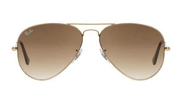 Ray-Ban RB3025 001-51 Aviator Gold Brown