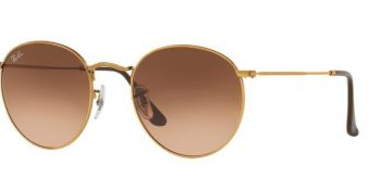 Слънчеви очила Ray-Ban RB3447 9001 Round Metal Gold little left