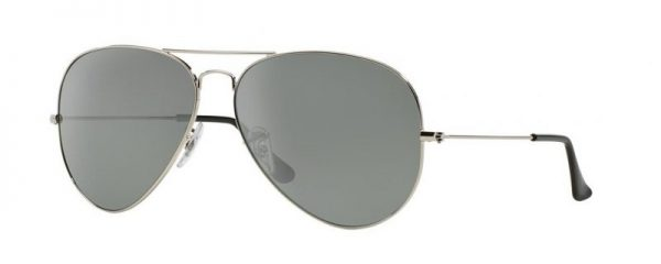 Ray-Ban RB3025 00340 Aviator Silver