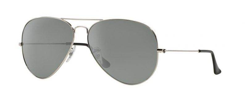 Слънчеви очила Ray-Ban RB3025 00340 Aviator Silver little left
